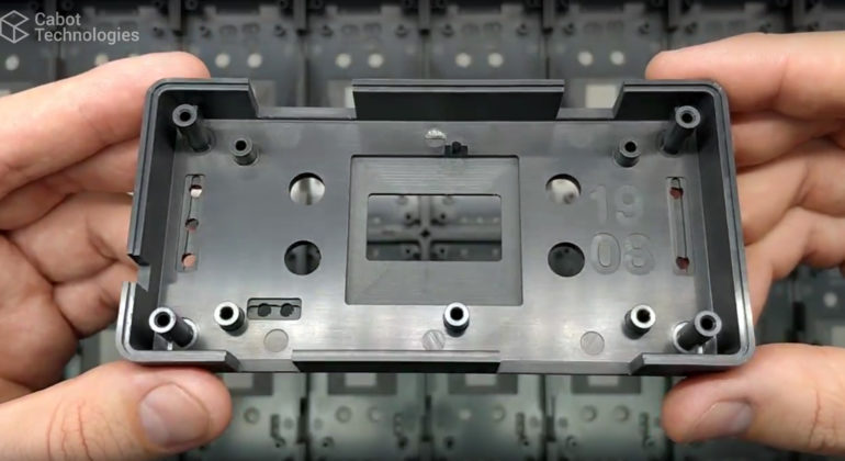 CNC Machining - ABS enclosure customisation